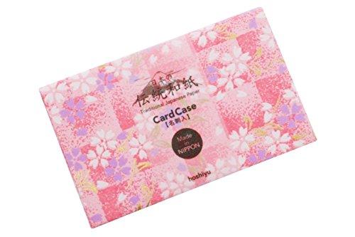 限定35%OFF 高級友禅和紙 カードケース 桃金桜