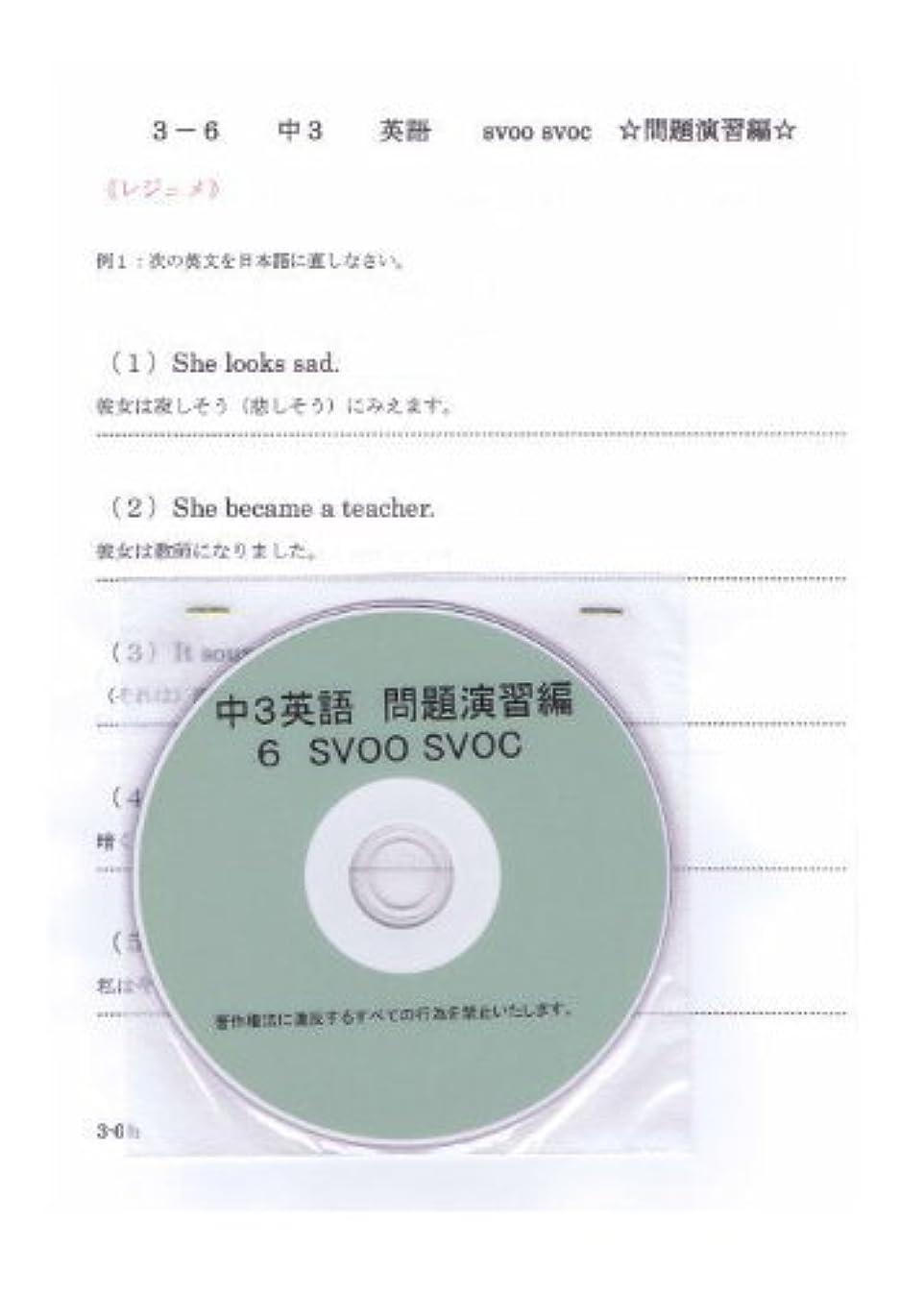 アレイマーティンルーサーキングジュニア並外れた中学 英語 3年 【応用】 6 SVOC DVD (授業+テキスト+問題集)