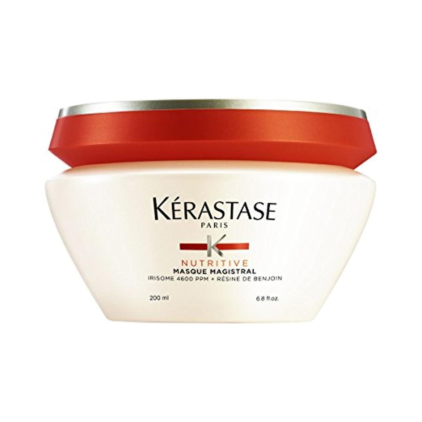 後継姿を消す請求可能K駻astase Nutritive Masque Magistral Hair Mask 200ml [並行輸入品]