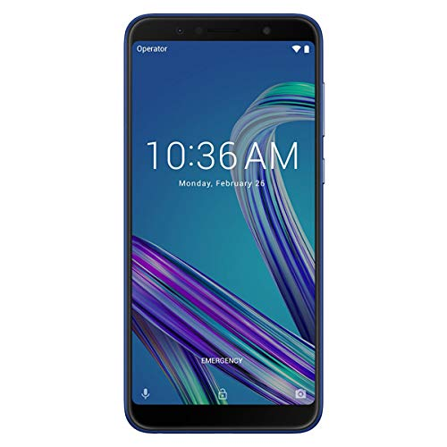 ASUS (エイスース) Zenfone Max Pro M1 ZB602KL-BL32S3 スペースブルー Android 8.1・6.0型 nanoSIM×2 SIMフリースマートフォン