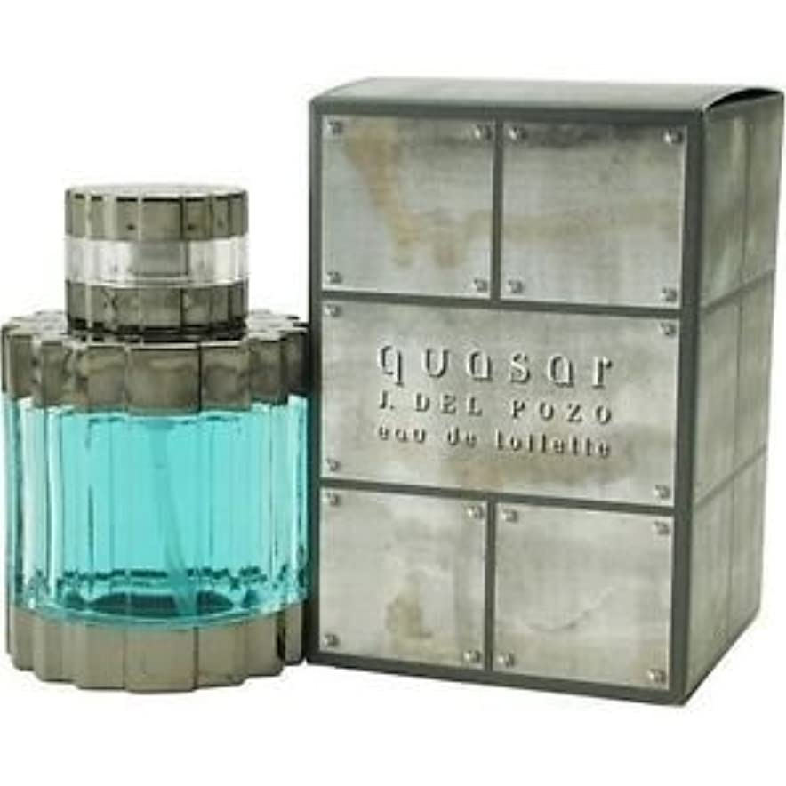父方の露土地Quasar (クエイサー) 2.5 oz (75ml) EDT Spray by J. Del Pozo for Men