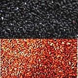 古代米(黒米、赤米)各500g