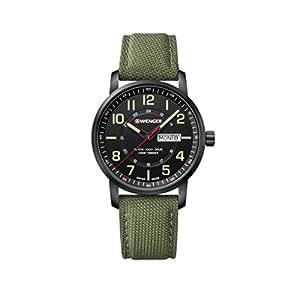 [ウェンガー]WENGER 腕時計 10気圧防水 ミリタリー デイデイト Attitude Day&Date 01.1541.104 メンズ 【正規輸入品】