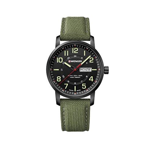 [ウェンガー]WENGER 腕時計 10気圧防水 ミリタリー...