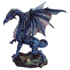 グレート ミッドナイトドラゴンフィギュアL Great Midnight Dragon Statue