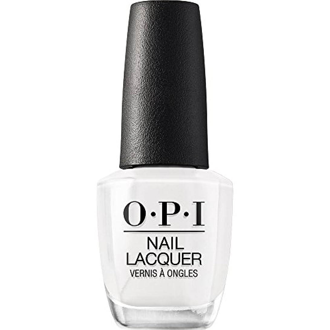 感染するゴミ不利OPI(オーピーアイ) NLL00 アルパイン スノー