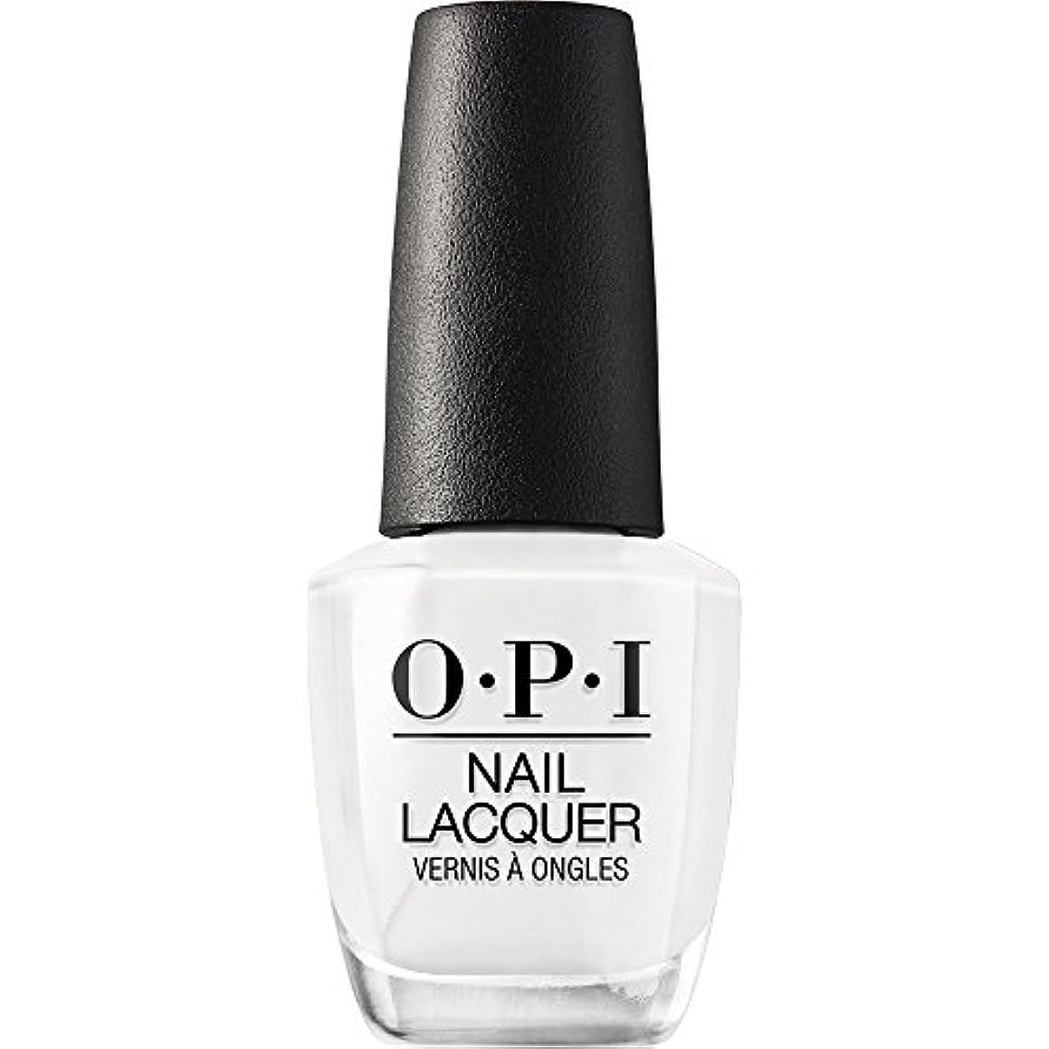 姓統合する表面OPI(オーピーアイ) NLL00 アルパイン スノー