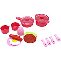 Little Treasuresミニチュア料理&食器類Pretend Play Toy Set