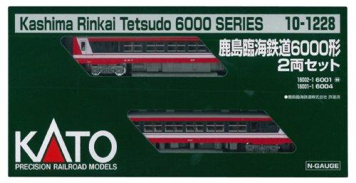 KATO Nゲージ 鹿島臨海鉄道6000形 2両セット 10-1228 鉄道模型 ディーゼルカー