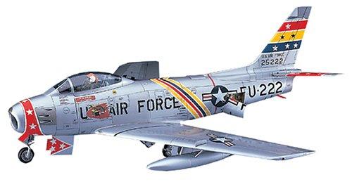 ハセガワ 1/48 アメリカ空軍 F-86F-30 セイバー U.S.エアフォース プラモデル PT13