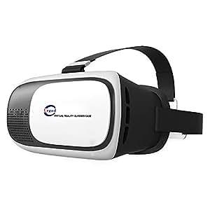 Urgod 3D VRゴーグル メガネ Virtual Realityメガネ VR BOX スマホゴーグル 頭部装着 3D映像効果 立体動画 iOS アンドロイド 3.5 ~ 6.0インチの スマートフォン対応