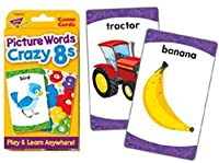 Picture Words Crazy 8s Challenge Cards? by Trend [並行輸入品]