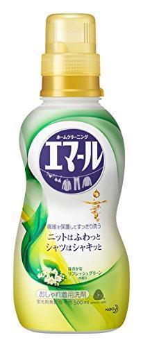 エマール 洗濯洗剤 液体 おしゃれ着用 リフレッシュグリーンの...