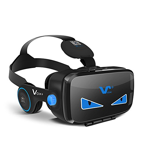 VOX PLUS FE 3DVR ゴーグル イヤホン実装 黒