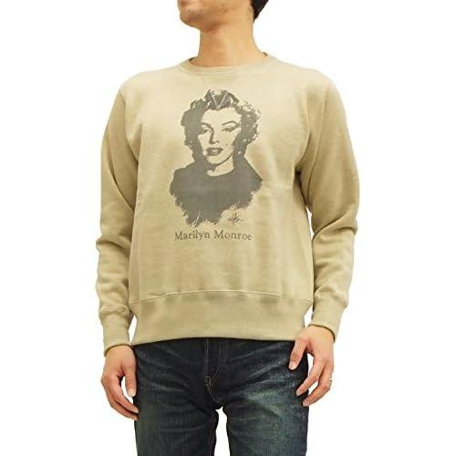(トイズマッコイ) TOYS McCOY ミリタリースウェットシャツ TMC1464 マリリン モンロー #041オートミール (40(メンズLサイズ))