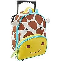 Skip Hop Zoo Kid Rolling Luggage, Giraffe