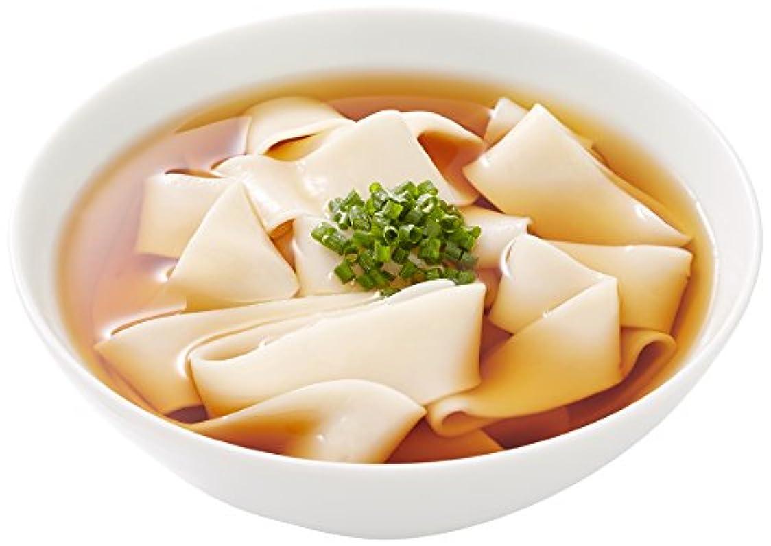 写真の地図写真の中里商店 桐生うどんの里 ひもかわ(半生) 270g×5袋入り(麺のみ) 特製幅広麺