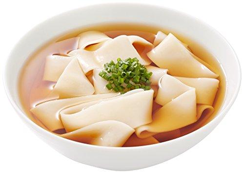 中里商店 桐生うどんの里 ひもかわ(半生) 270g×5袋入り(麺のみ) 特製幅広麺