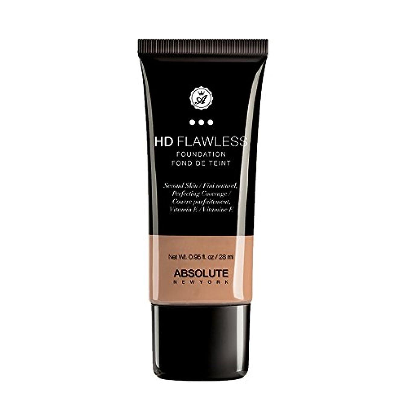 サイドボードスズメバチ経済的(3 Pack) ABSOLUTE HD Flawless Fluid Foundation - Honey (並行輸入品)