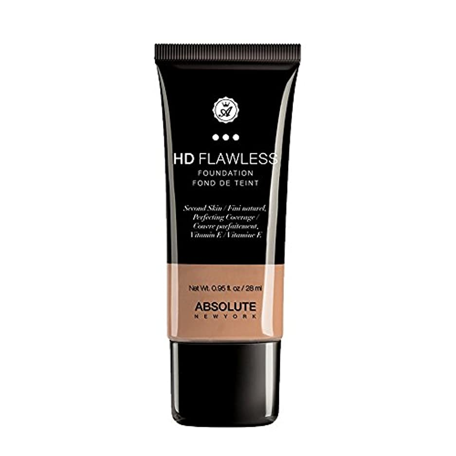 活発必需品ワックス(3 Pack) ABSOLUTE HD Flawless Fluid Foundation - Honey (並行輸入品)