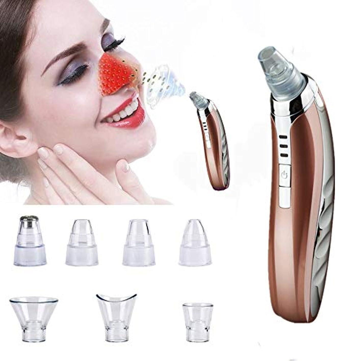具体的に感じる罪悪感にきび除去ツール、にきび除去剤、電気マイクロダーマブレーション顔の毛穴クリーナーキット、多機能ダイヤモンド真空吸引カッピング装置