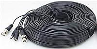 細線2本一体ケーブル(50m) 100mAまでの防犯カメラ、マイクなどに 映像/映像一体 BNC DC (BNCP/DCJ - BNCP/DCP) 延長ケーブル (SA-50614)