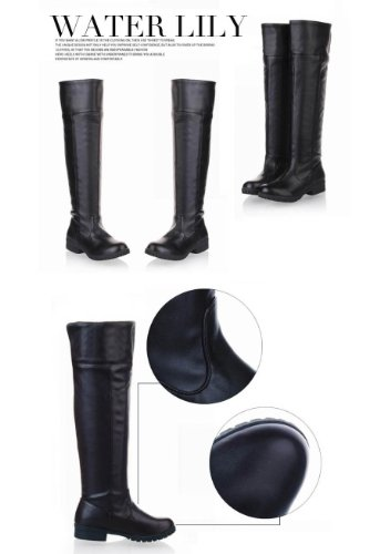 Best cospa long boots Corps costume or to wear everyday! range 22-29 cm 2 colours (black, 24.5)