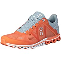 ON Men's Cloudflow Running Shoes, Orange/Glacier