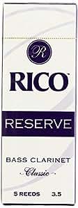 RICO リード レゼルヴ クラシック バスクラリネット 強度:3.5(5枚入) RER0535