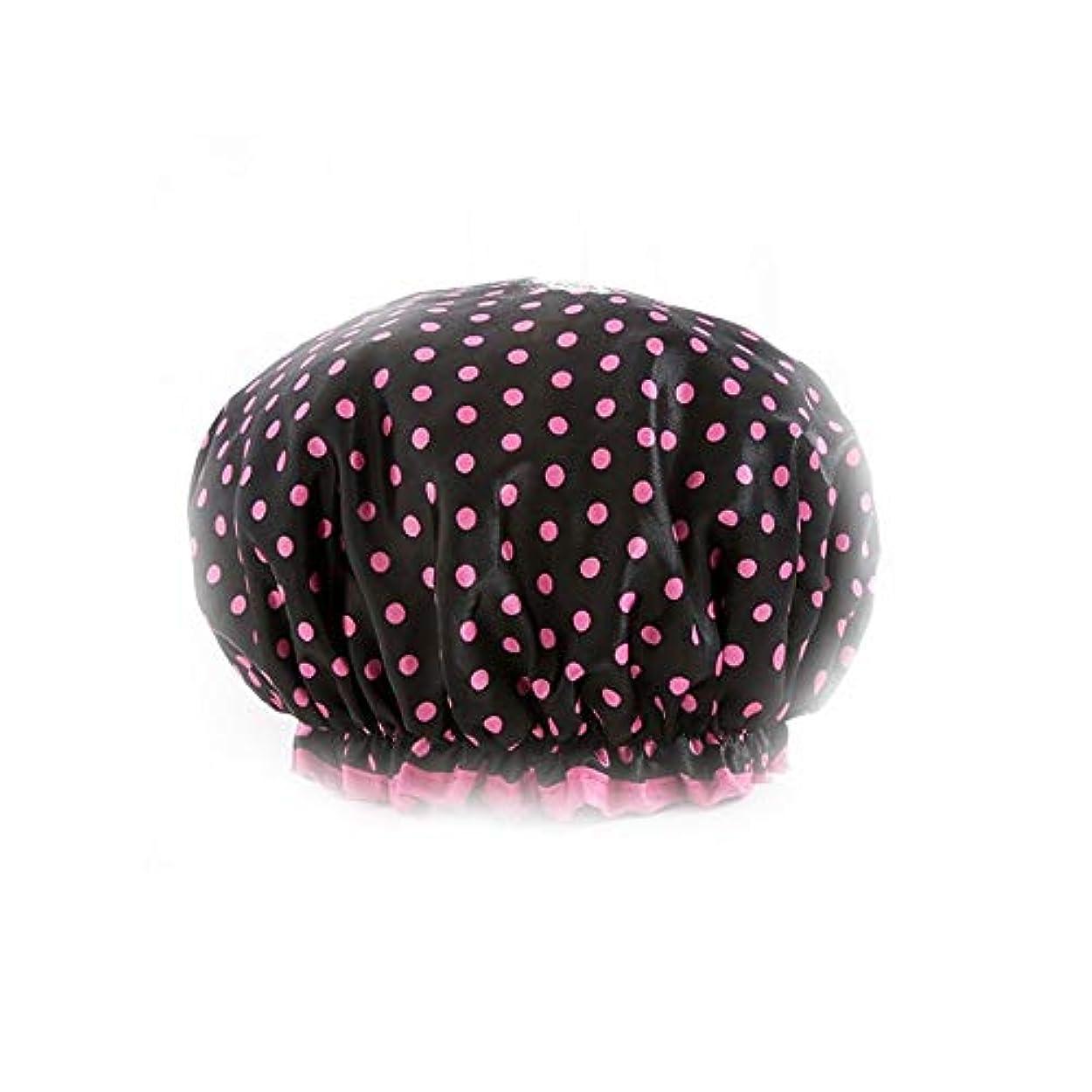 世界に死んだお気に入り正確DKX シャワーキャップ、女性のすべての髪の長さと厚さに適しレディースシャワーキャップデラックスシャワーキャップ - 防水やカビ耐性、再利用可能なシャワー。 髪のタイムリーな保護 (Color : 2)