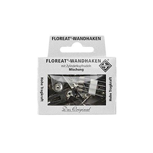 [해외]Floreat Wall Hooks Nickel 설탕 리토 벽 후크 (니켈) [HD2334]/Floreat Wall Hooks Nickel Floret Wall Hook (Nickel) [HD 2334]
