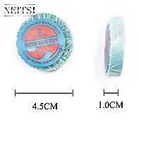 Neitsi(ネイティス)1個 かつら用両面テープ 超強力両面テープ 青幅1.0cm ウィッグ用両面テープ 接着テープ
