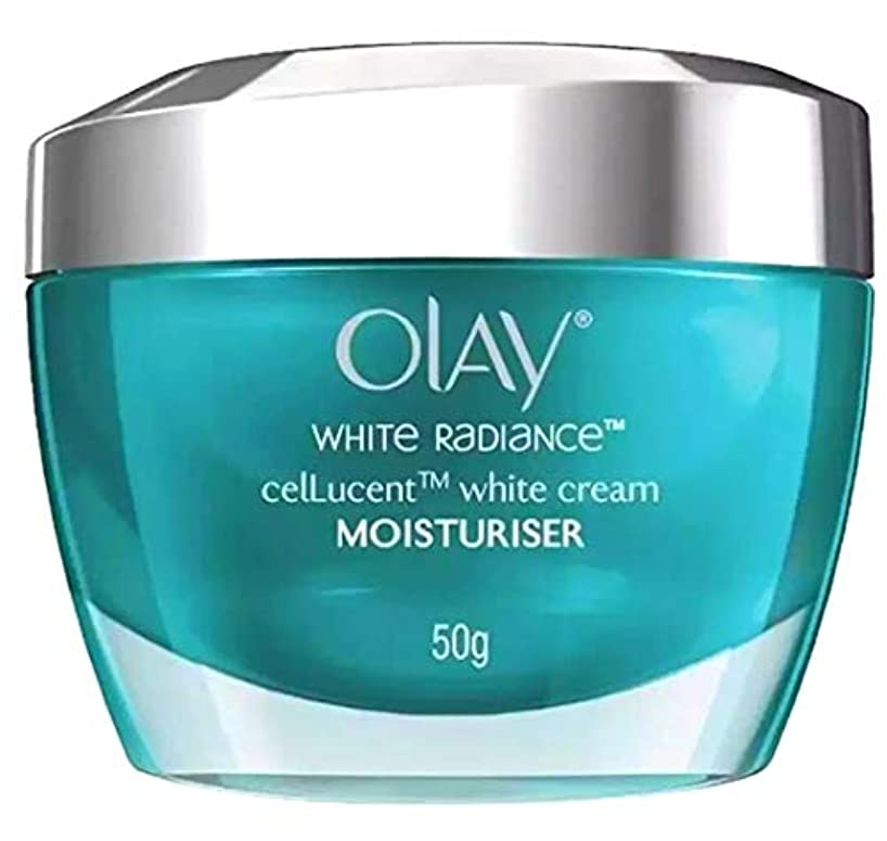 飲み込む娯楽おじさんOLAY WHITE RADIANCE ADVANCED WHITENING cellucent MOISTURISER 【WHITENING】50g [並行輸入品]