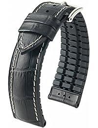 [HIRSCH]ヒルシュ 腕時計 革 ベルト ジョージ 尾錠色:シルバー/ゴールド