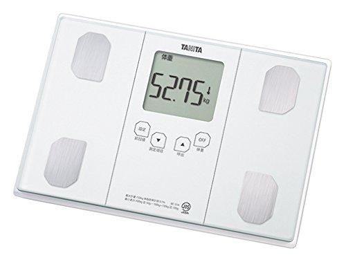 タニタ 体重・体組成計 インナースキャン50 パールホワイト BC-314-WH