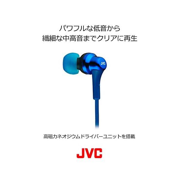 JVC HA-FX26-A カナル型イヤホン ブルーの紹介画像3