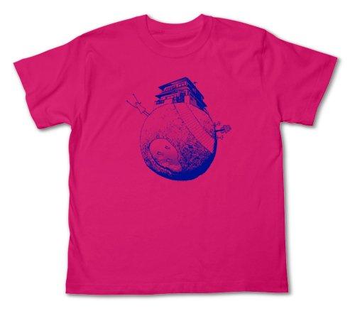 おやすみプンプン プンプン星Tシャツ トロピカルピンク サイズ:M