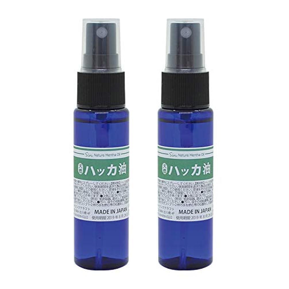彼らのもの簡潔なコジオスコ日本製 天然ハッカ油(ハッカオイル) スプレー 30mL×2本