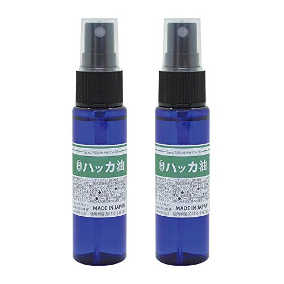 第三風景乞食日本製 天然ハッカ油(ハッカオイル) スプレー 30mL×2本