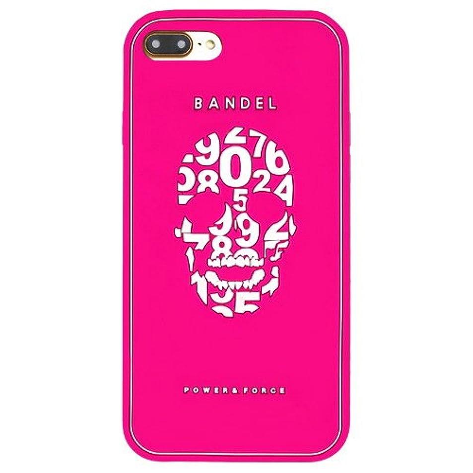 カスタム共産主義者ショートカットバンデル(BANDEL) スカル iPhone 7 Plus専用 シリコンケース [ピンク]