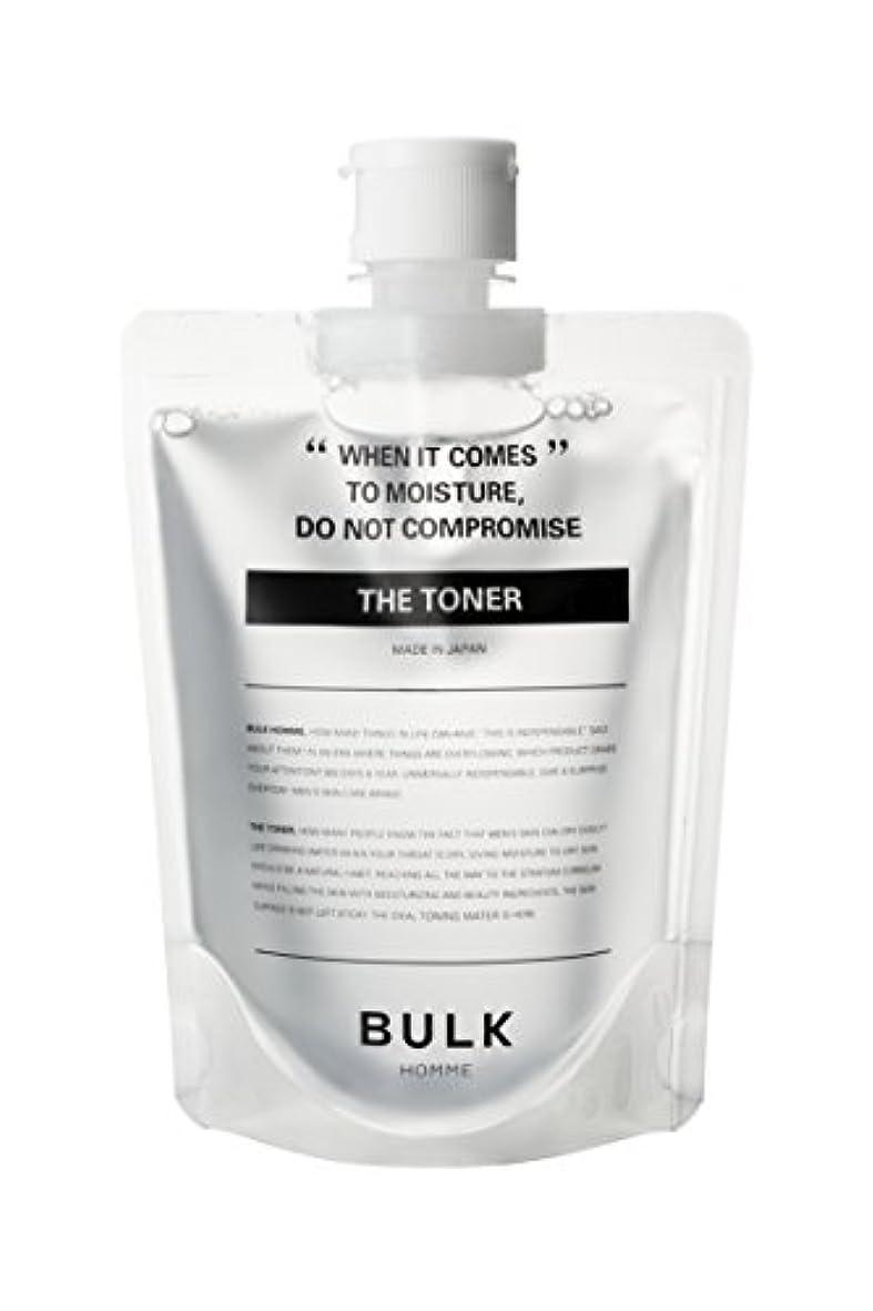 敵レオナルドダバイオリンバルクオム (BULK HOMME) バルクオム THE TONER 高保湿化粧水 【低刺激】 単品 200mL