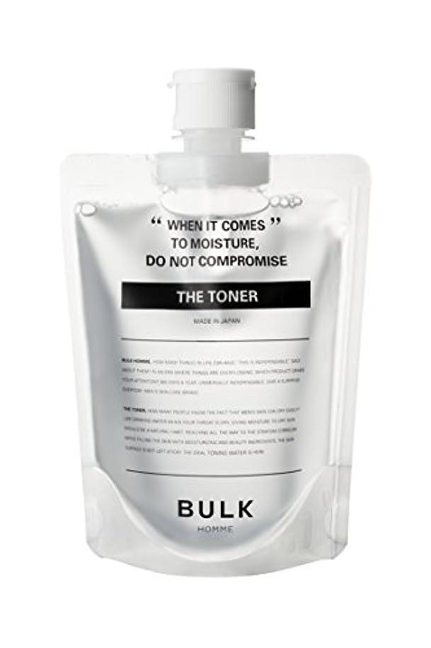 状態解明する浴室バルクオム (BULK HOMME) バルクオム THE TONER 高保湿化粧水 【低刺激】 単品 200mL
