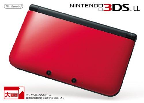 ニンテンドー3DS LL レッドXブラック 【メーカー生産終了】