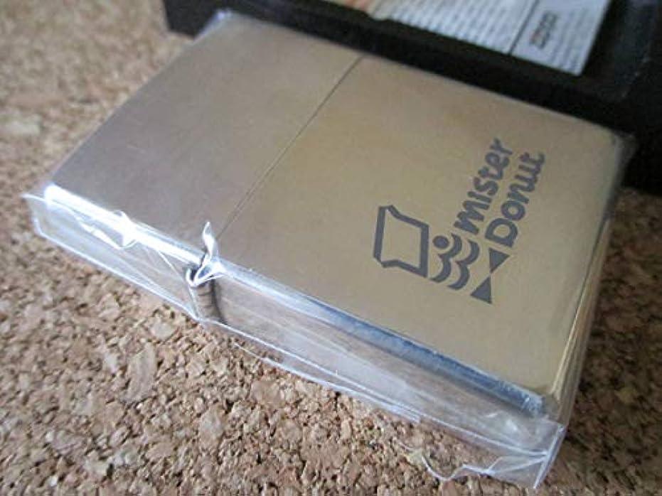 ウェブ憂鬱再びZIPPO MISTER DONUT ミスタードーナツ 2000 30TH ANNIVERSARY 1999年9月製造 30周年記念 オイルライター ジッポー 廃版