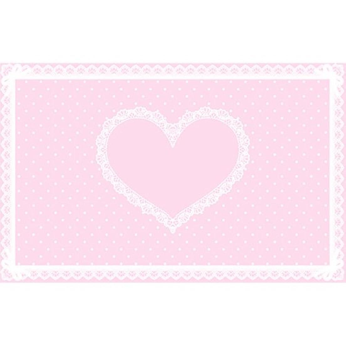 書くカップル最大のシリコンネイルマット ピンク