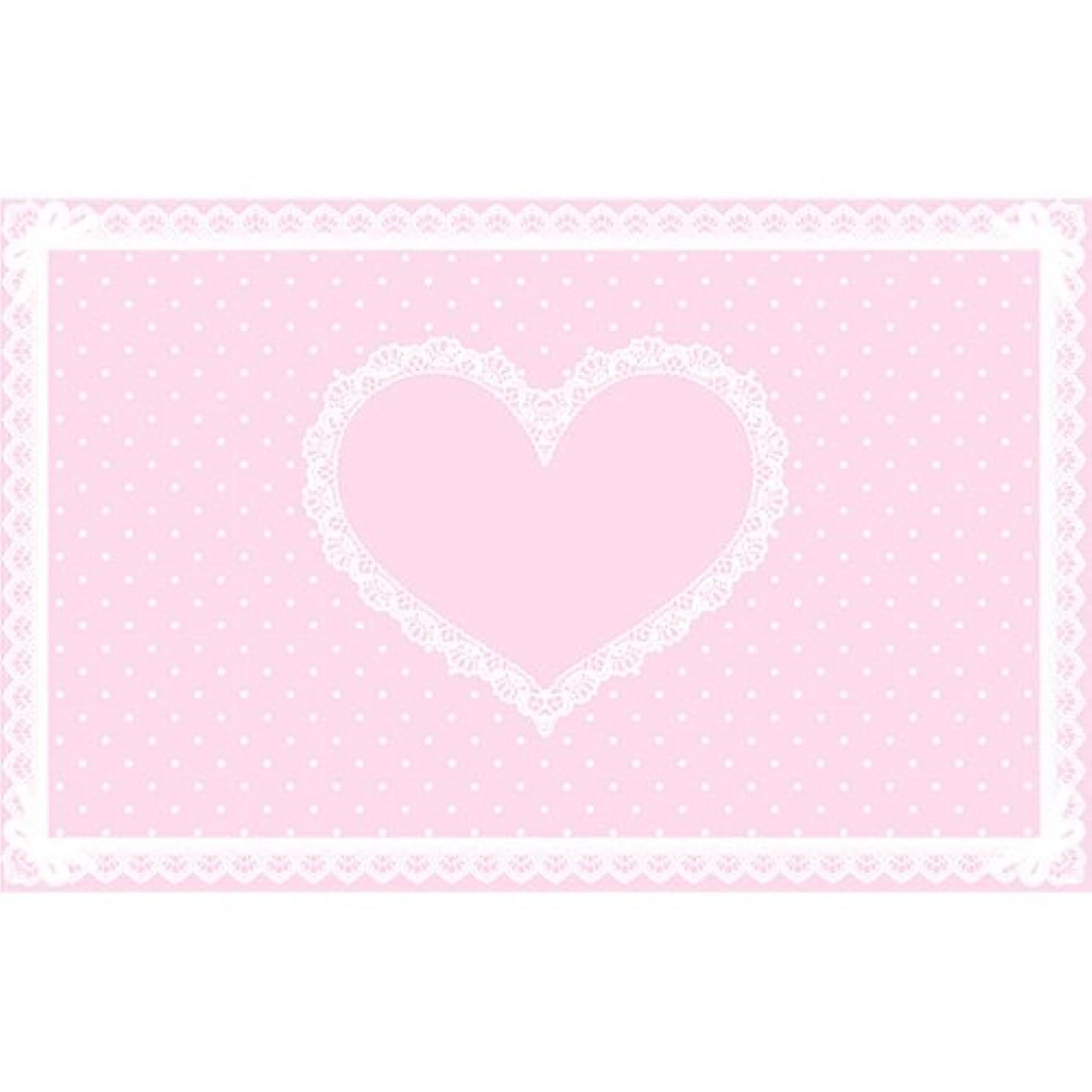 レンズシットコム愛情シリコンネイルマット ピンク