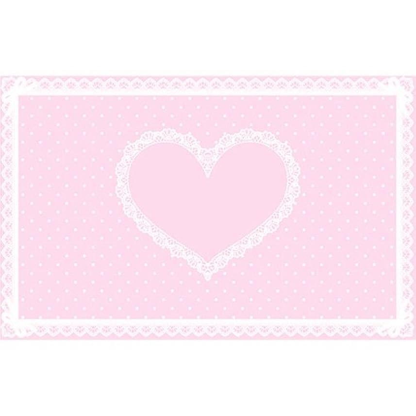 チョコレートアルファベット順支配するシリコンネイルマット ピンク