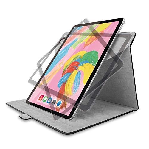エレコム iPad Pro 11インチ (新iPad Pro 2018年モデル) フラップカバー ソフトレザー 360度回転 ブラック TB-A18M360BK