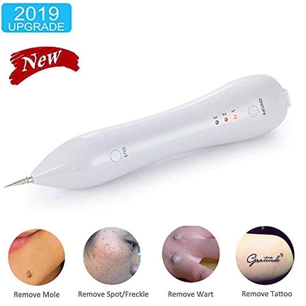XISUREポータブルイレイザープロスキンケアデバイス、LEDツール付きで肌のラベル、黒ずみ、そばかす、ほくろ、入れ墨を安全に除去
