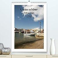 Kretas schoener Westen(Premium, hochwertiger DIN A2 Wandkalender 2020, Kunstdruck in Hochglanz): 14 schoene Bilder vom Westen Kretas (Monatskalender, 14 Seiten )